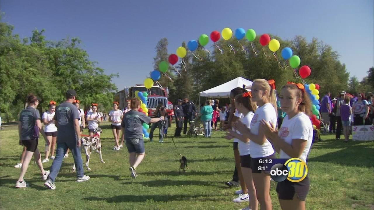 Fresno walk raises funds for juvenile diabetes research