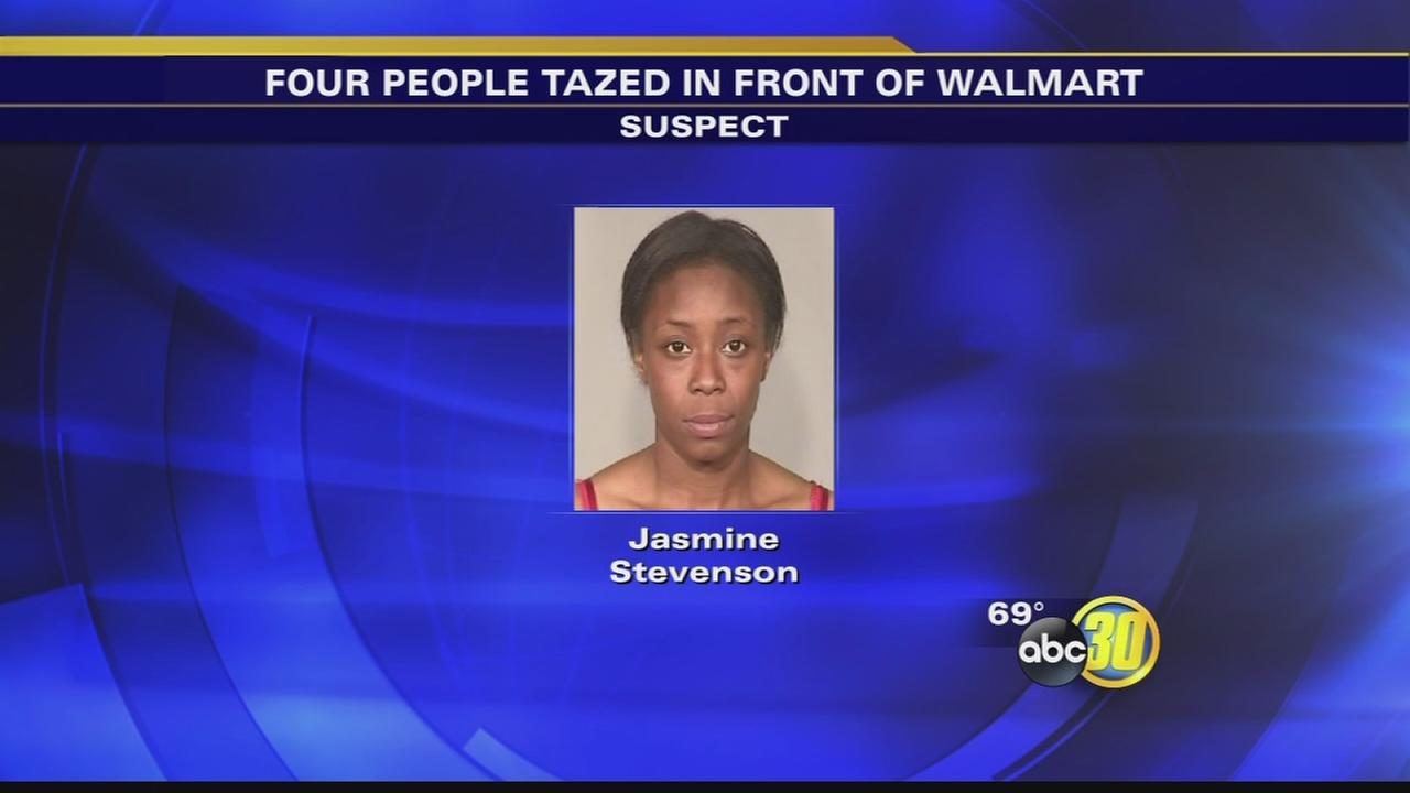 Female suspect tases people, including child, at Northwest Fresno Walmart, police say