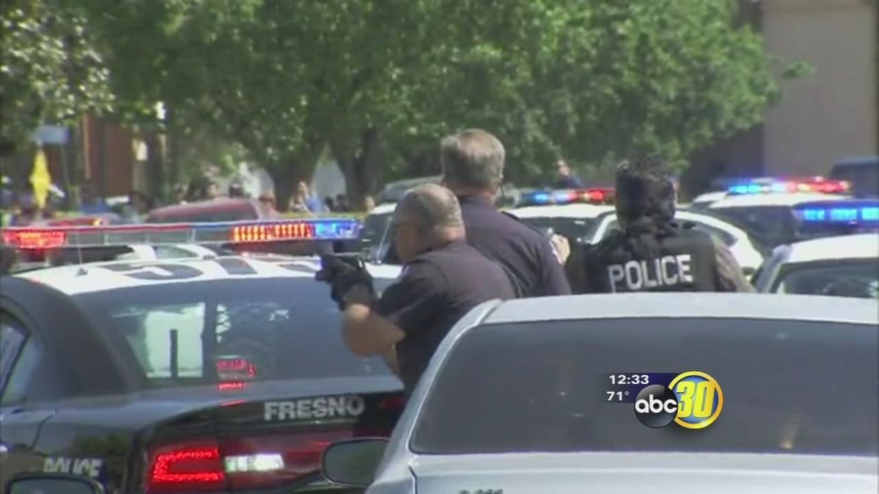 At least one person has been shot at Downtown Fresno medical office