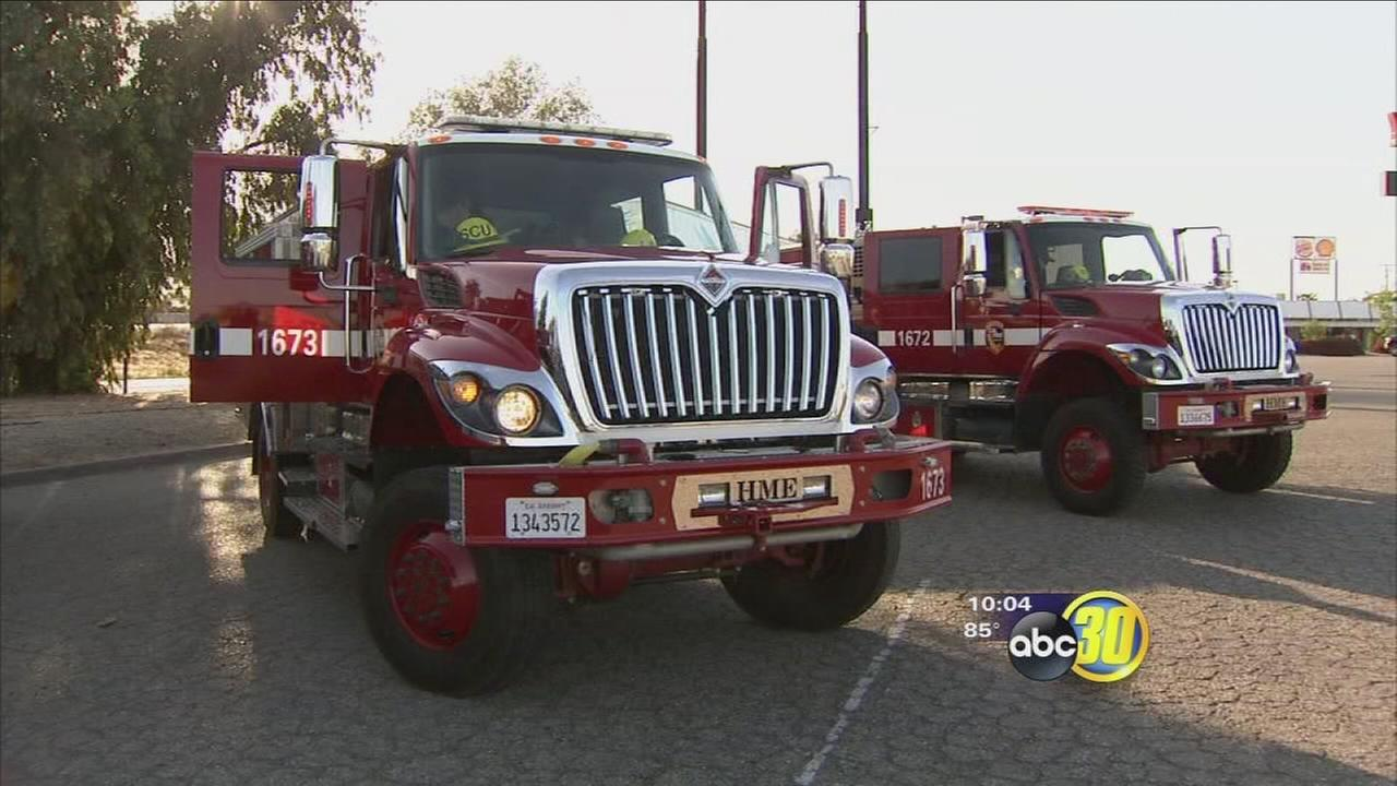 Local fire crews headed to San Diego