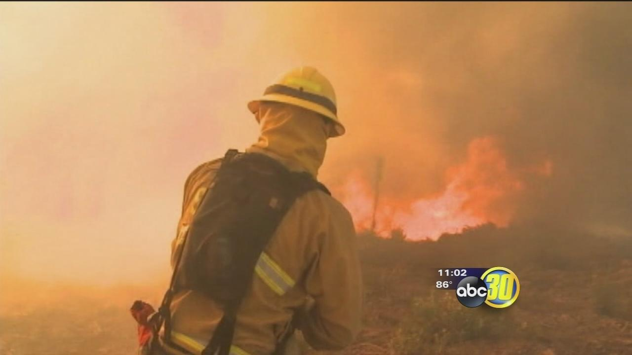 Nine wildfires burning across Southern California