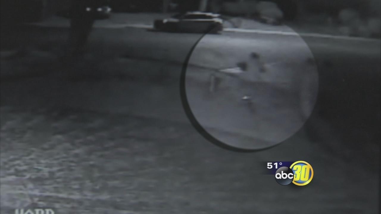 Los Banos catalytic converter thieves caught on camera