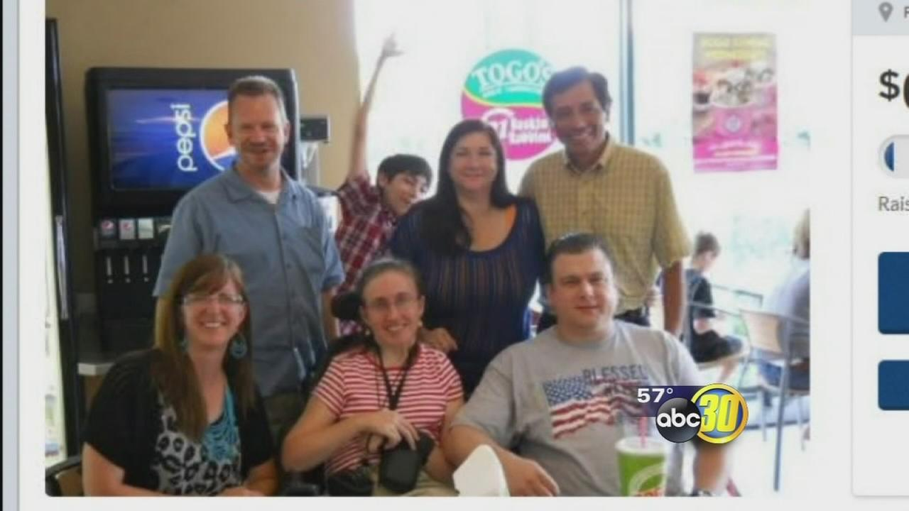 Fresno widow asking for help buying handicapped accessible van