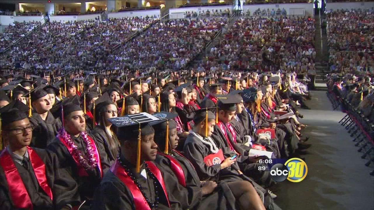 Fresno State students celebrate commencement