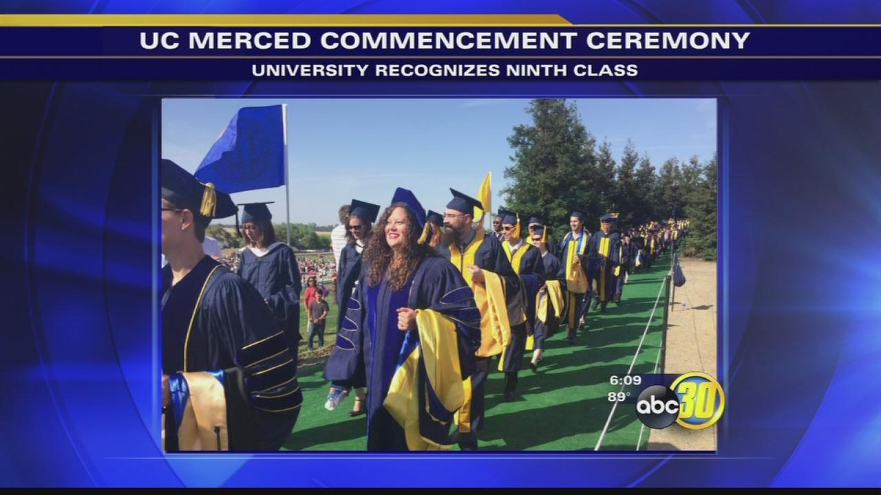 UC Merced holds 9th commencement