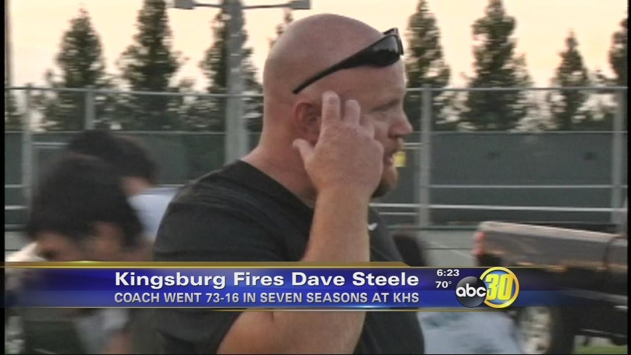 Dave Steele fired as Kingsburg football coach