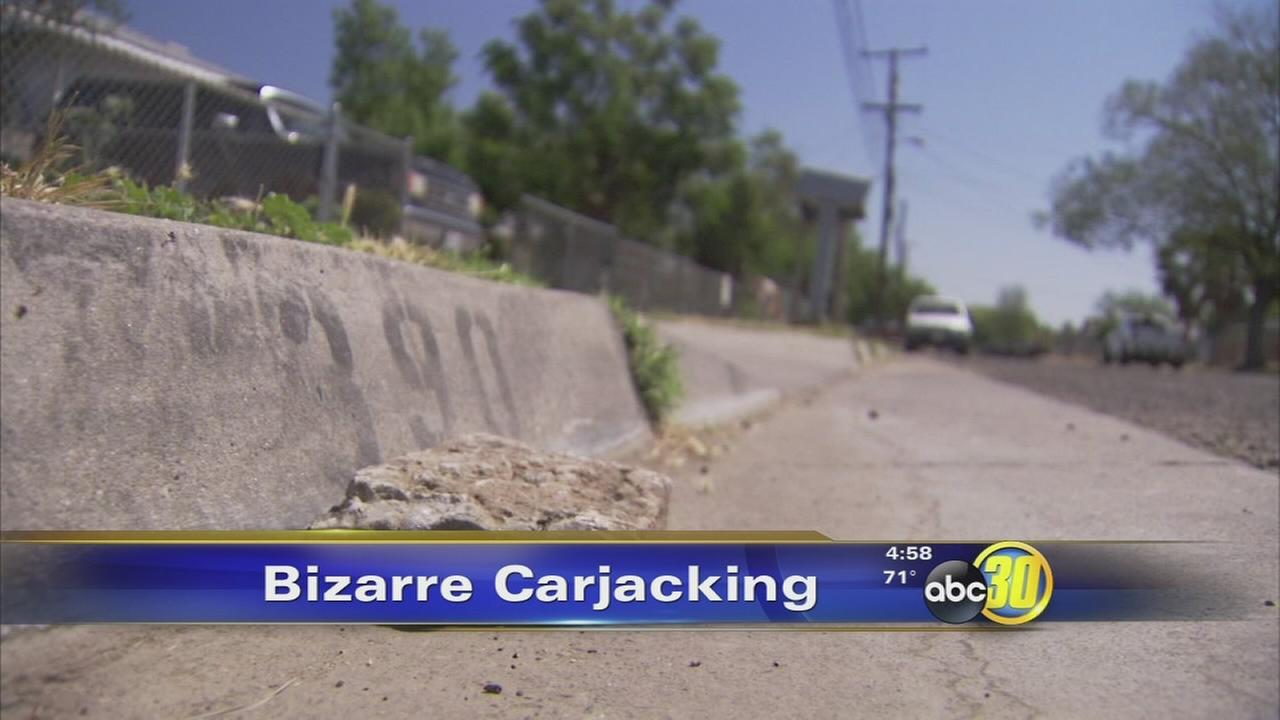Man says 2 suspects beat and carjacked him in Southwest Fresno