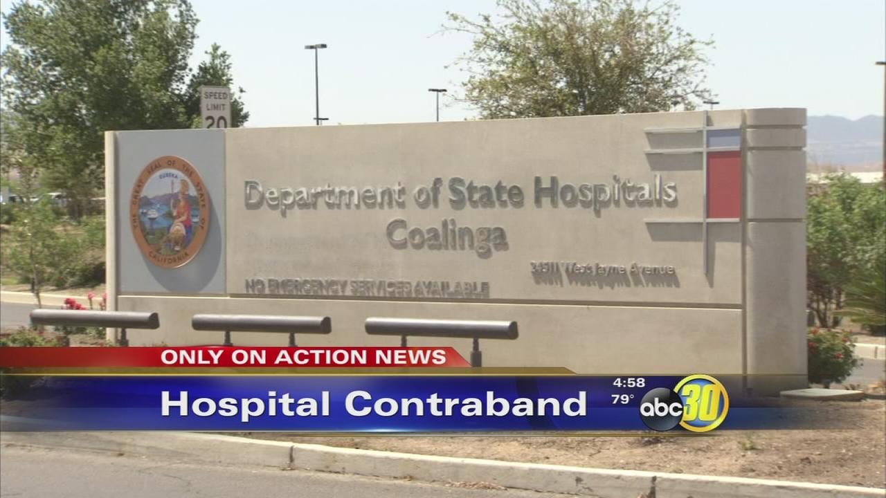 Contraband sneaked into Coalinga max security facility for sexually violent predators