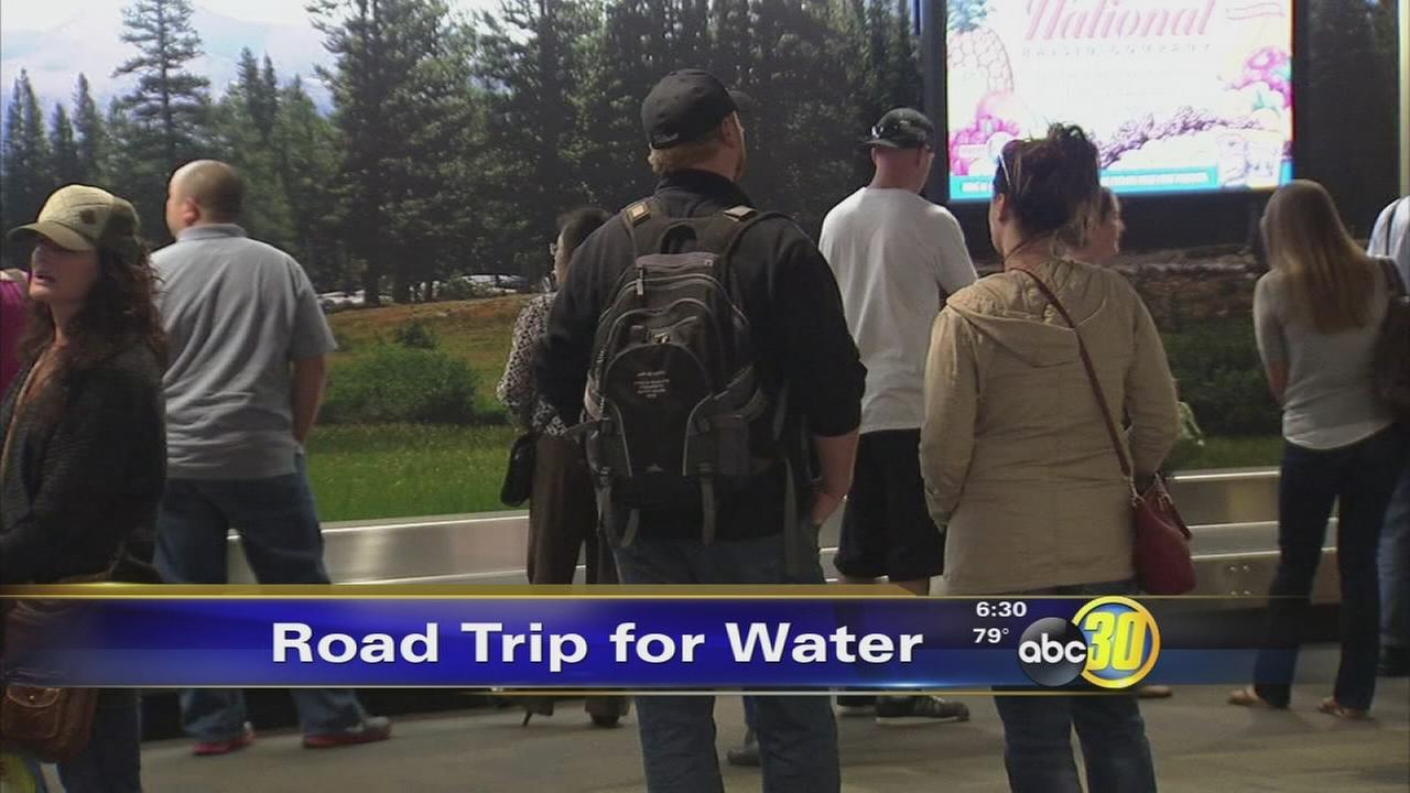 Local delegation back from DC water trip