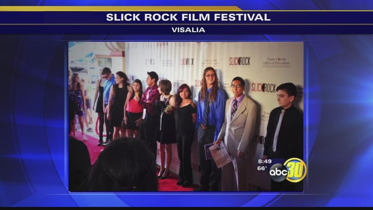 Slick Rock Student Film Festival draws crowd to Visalia