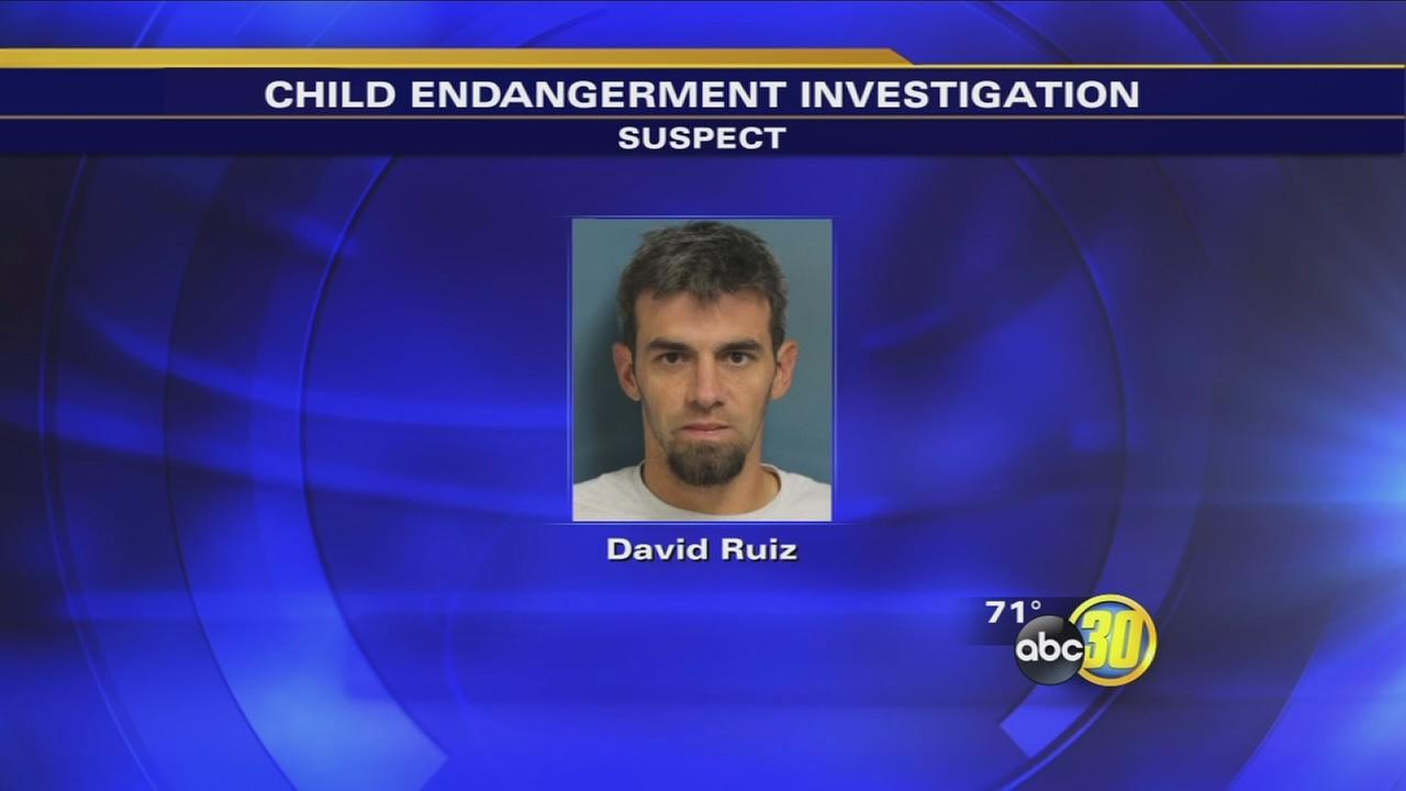 Police: Dad arrested after leaving baby in hot car