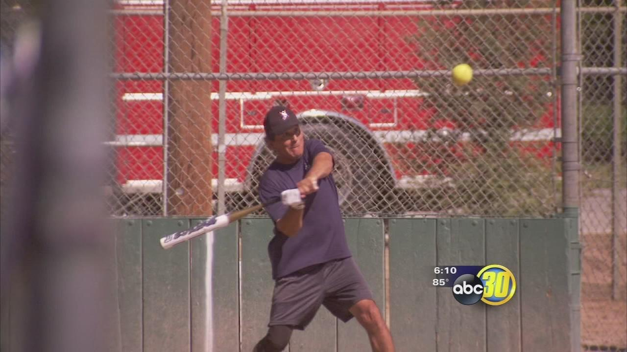 Fresno slow-pitch tournament raises funds for wounded firefighter