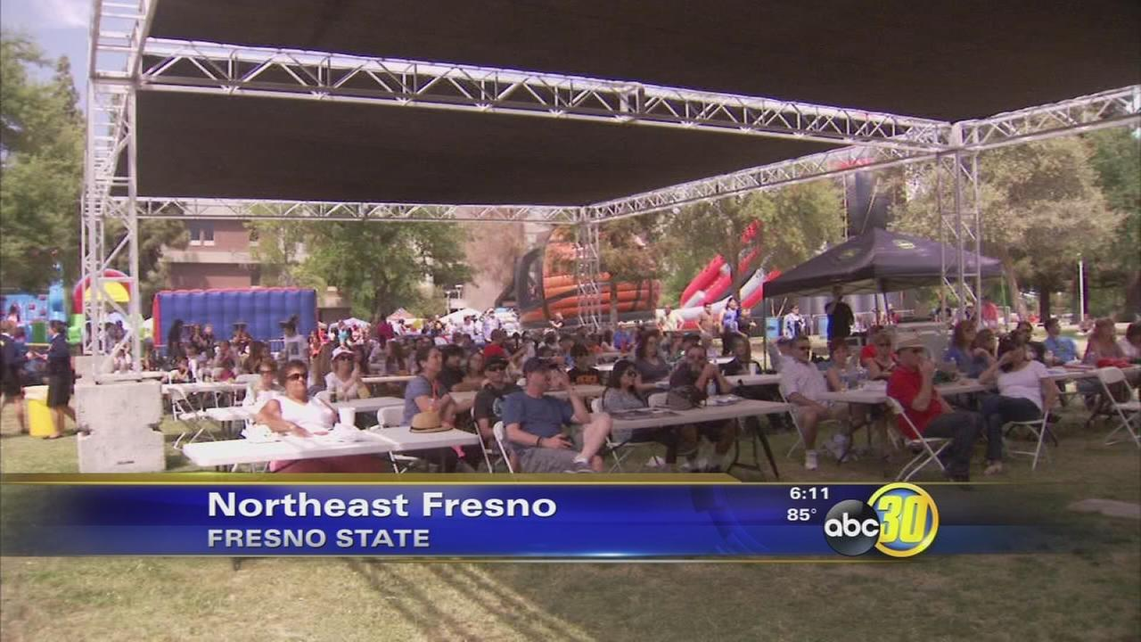 Vintage Days attracting thousands to Fresno State