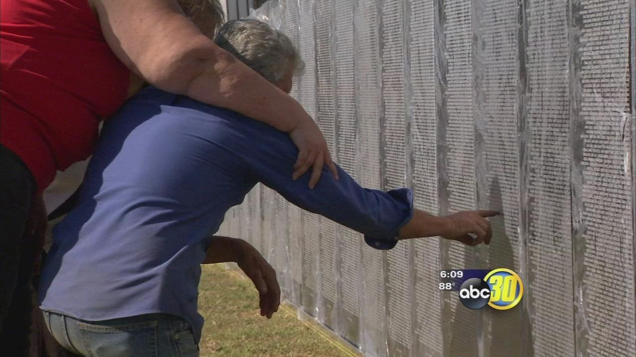 Vietnam veterans memorial erected in Dinuba