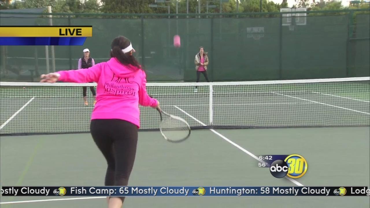 PINC Tennis Tournament raises money for women and children