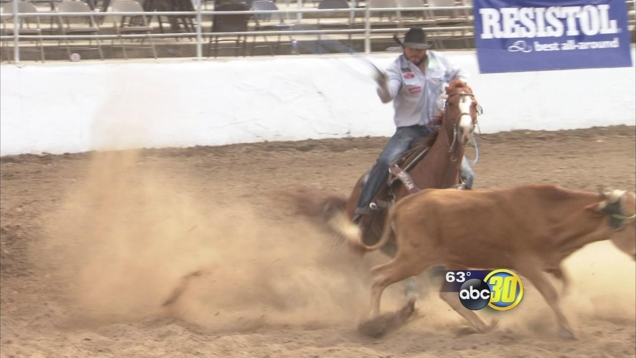 Greys Anatomy star hosts charity fundraiser at the Clovis Rodeo grounds