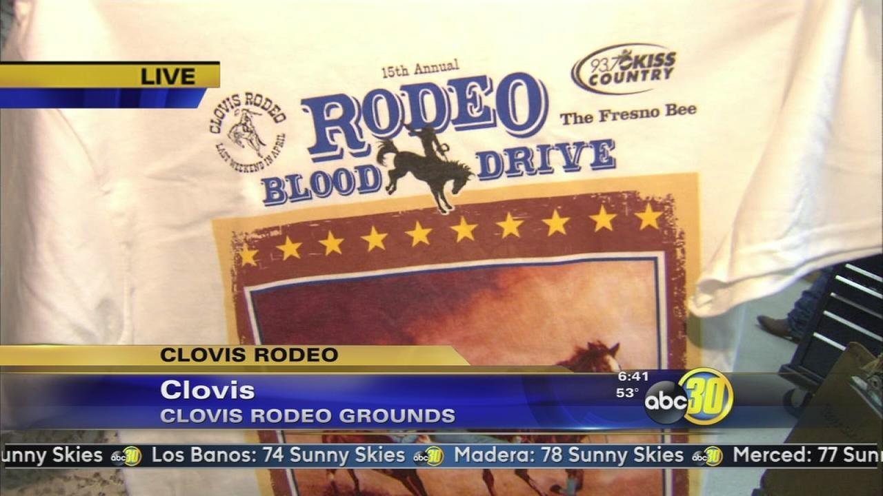 The annual Clovis Rodeo Blood Drive is underway