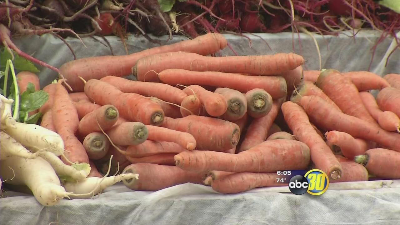 Demand for organic produce rising
