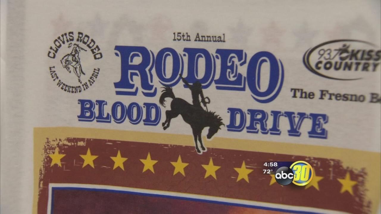 clovis rodeo blood drive