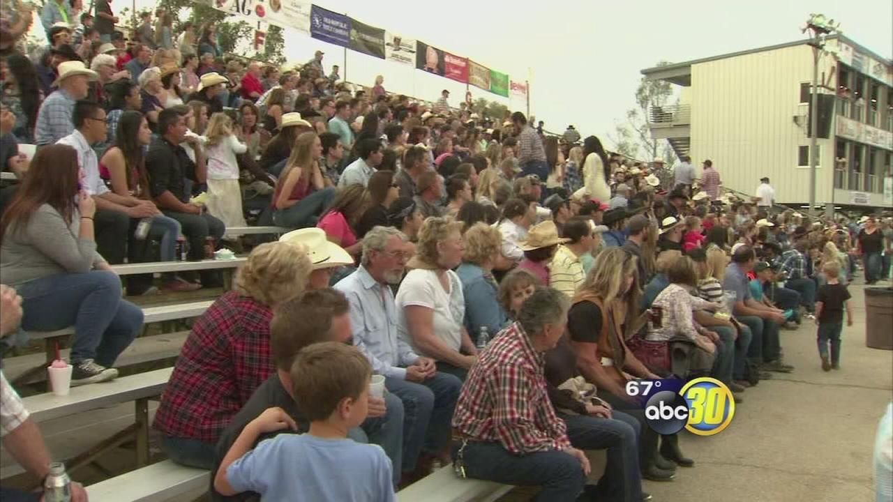 First day of 101st Clovis Rodeo attracts large crowd