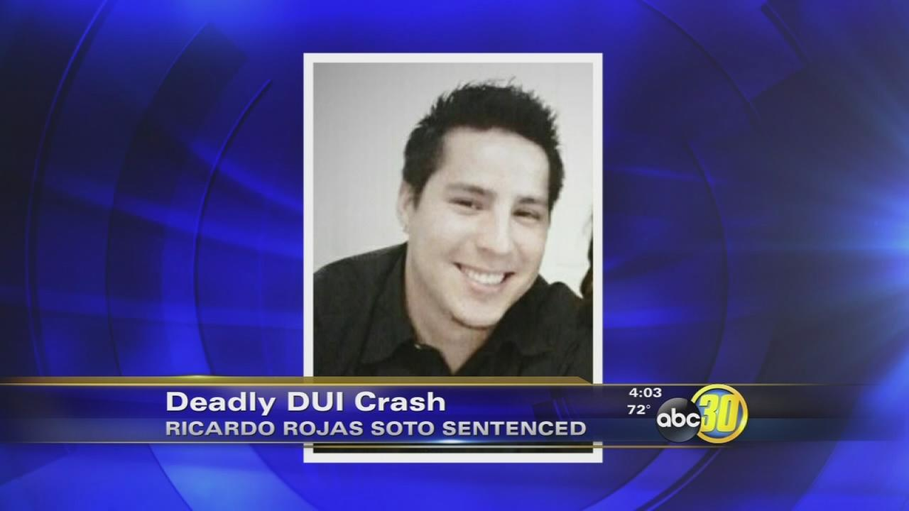 Drunk driver gets 10 years in prison for deadly Fresno crash
