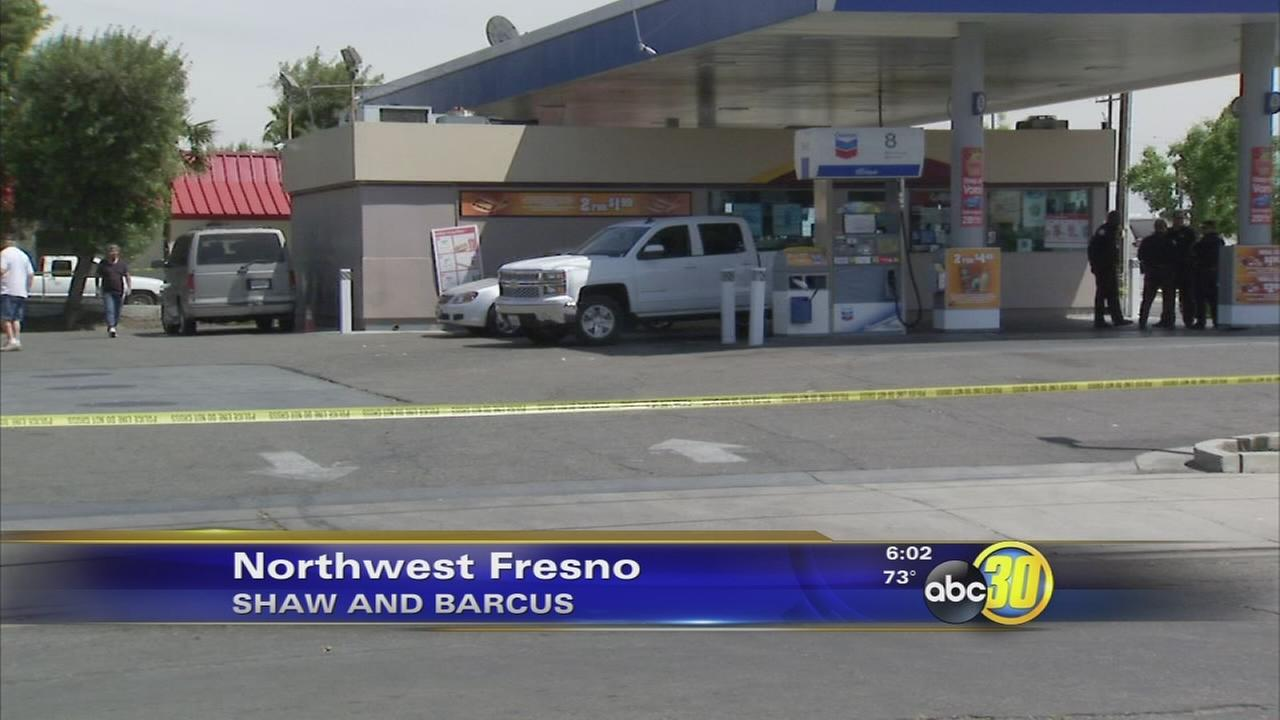 Shooting at Northwest Fresno gas station leaves man critical