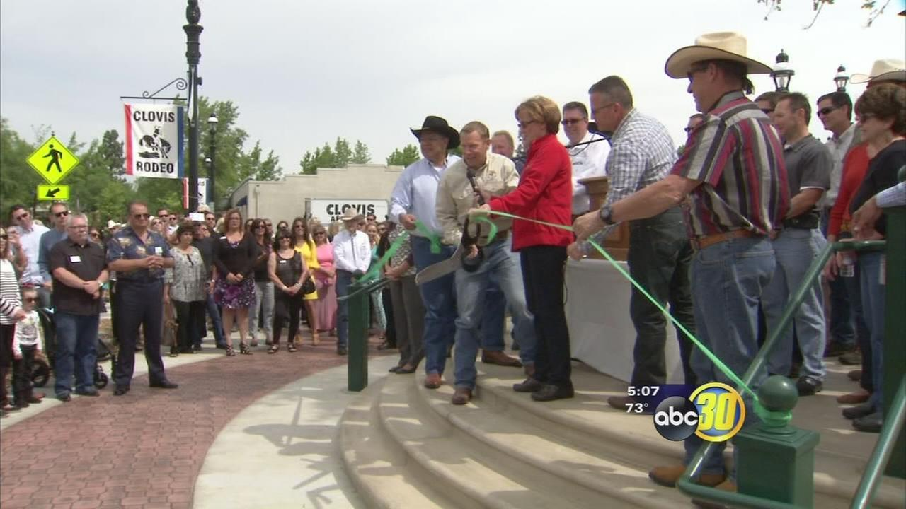 New plaza dedicated in Old Town Clovis