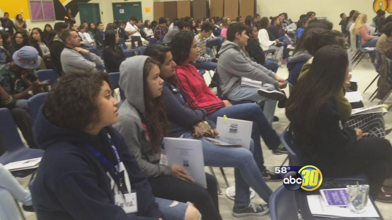Fresno Teen Summit attracts more than 200 students