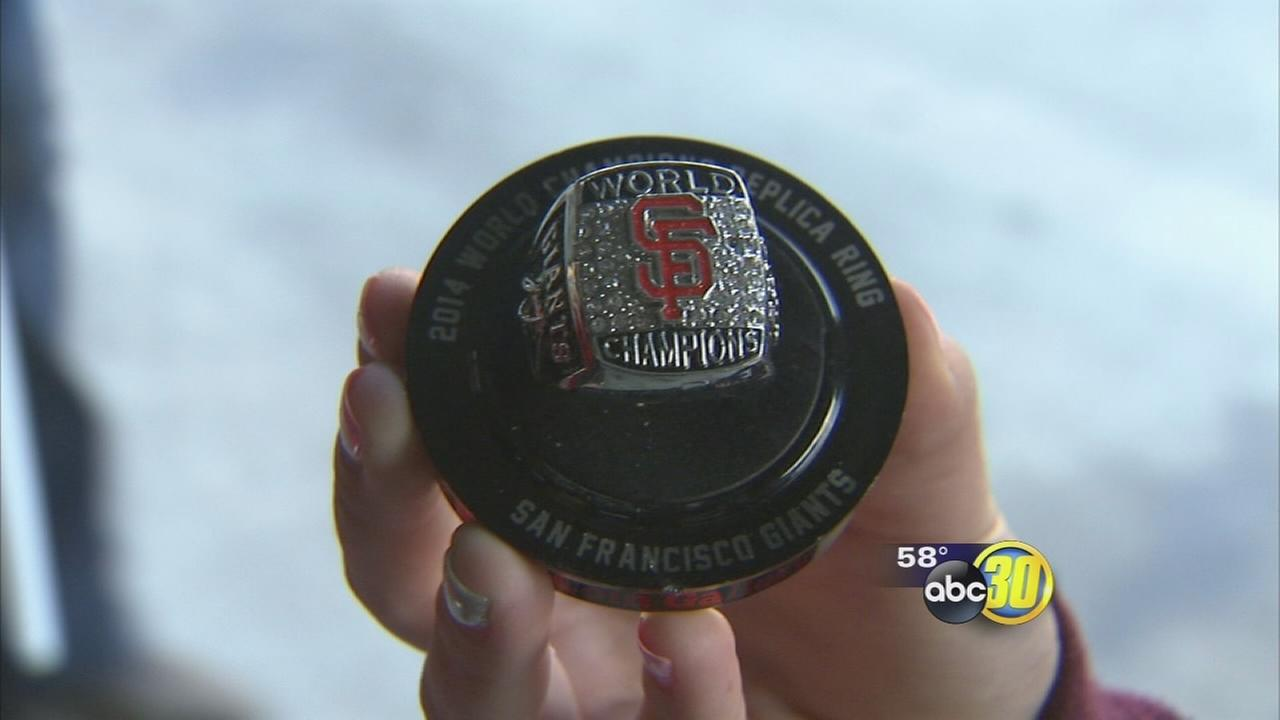 Fresno Grizzlies fans score SF Giants World Series replica rings