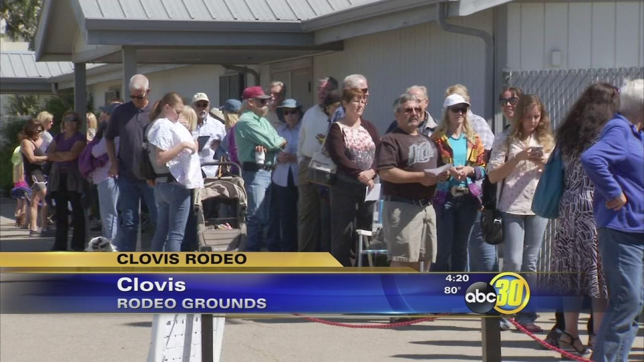 Clovis Rodeo fans already buying tickets for 2016