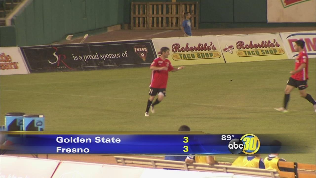 Fresno Fuego, Golden State Misioneros play to a draw