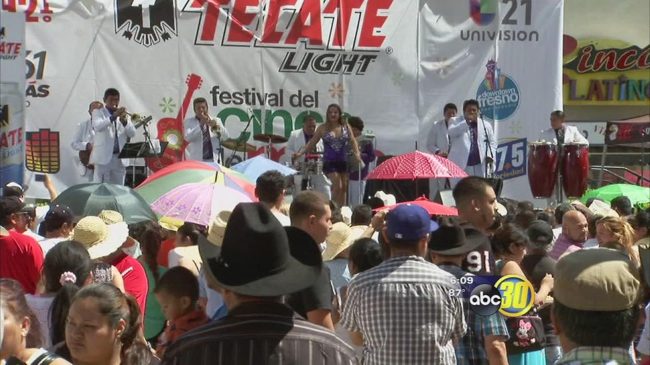 Cinco de Mayo festivities attract thousands to Downtown Fresno