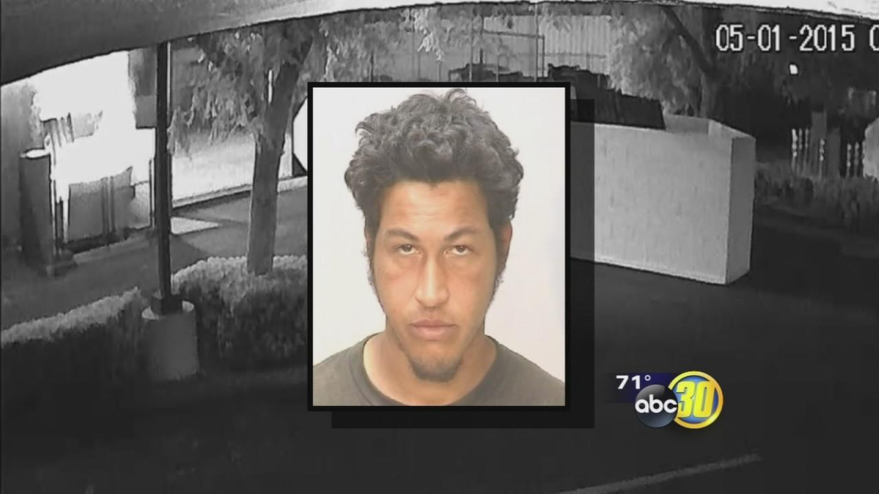 Surveillance video helps Coalinga police catch serial arson suspect