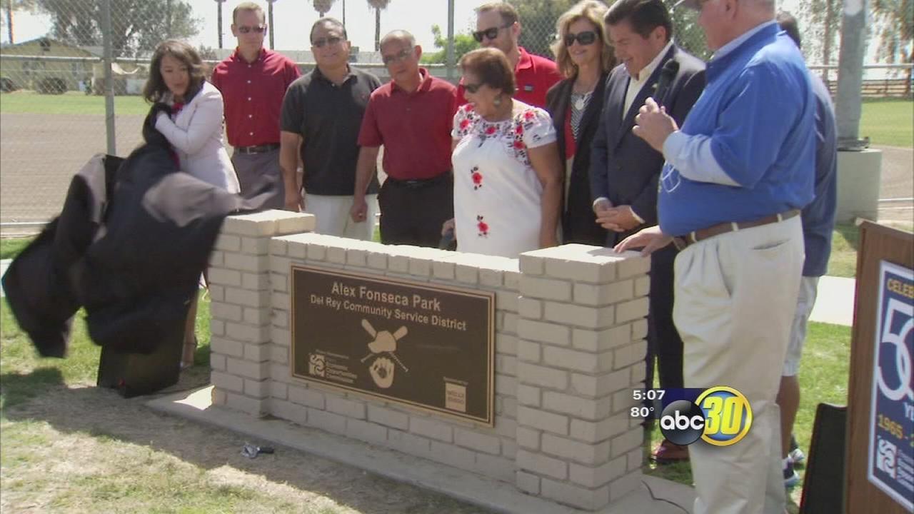 Del Rey completes park restoration project