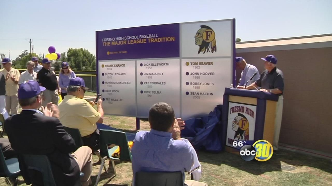 Fresno High School shows off new scoreboard