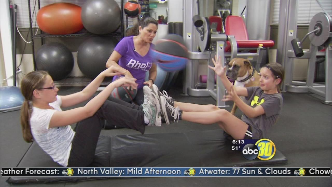Rhonda Murphy: Workout with friends