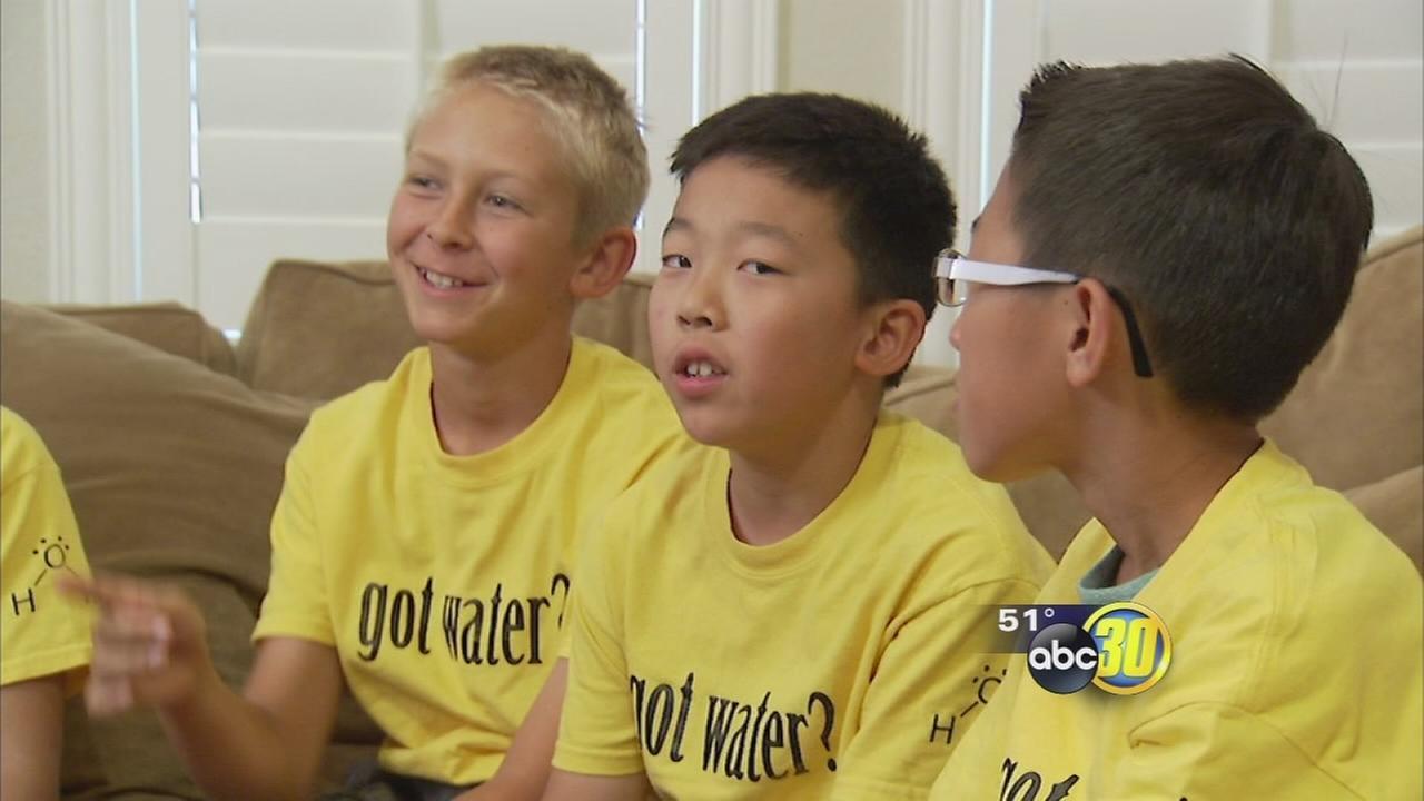 Fresno 6th graders design water-saving app