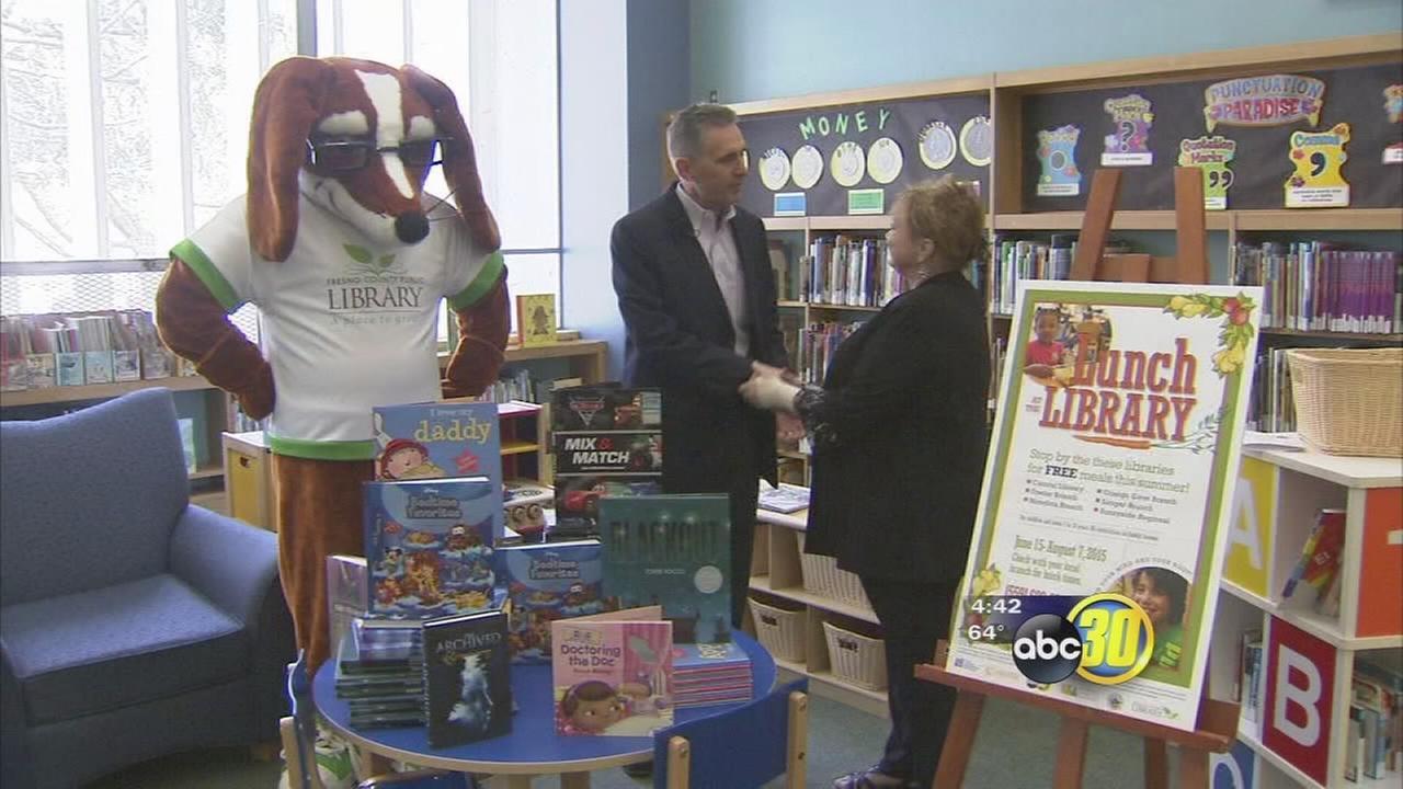 ABC30 donates 5,000 books to Fresno County Library program