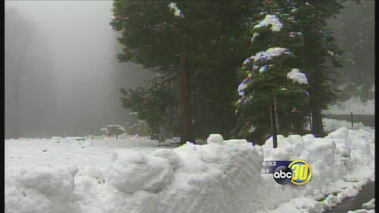 May storm brings welcome rain, snow to Yosemite National Park