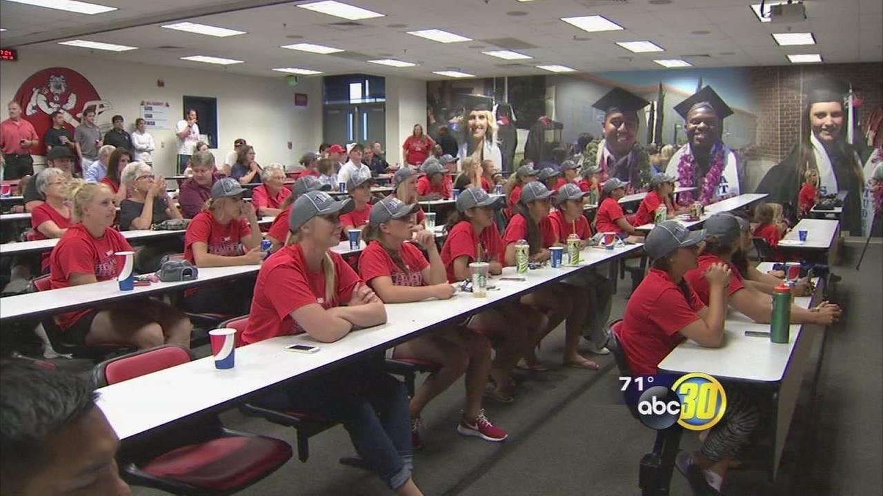 Fresno State softball headed to Eugene Regional
