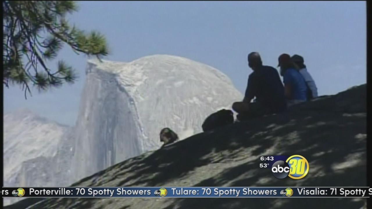 Half Dome climb opens to visitors in Yosemite