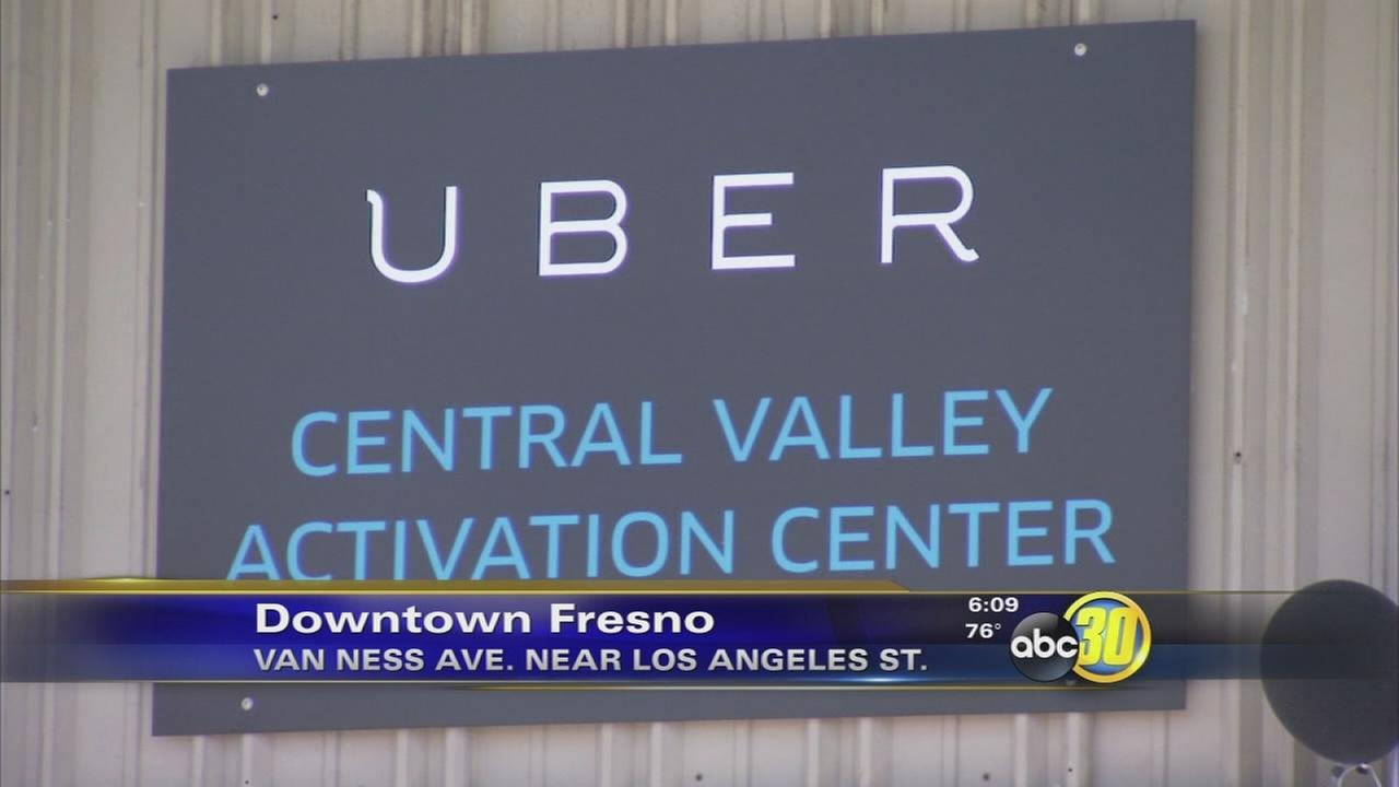 Uber opens Central Valley office in Downtown Fresno