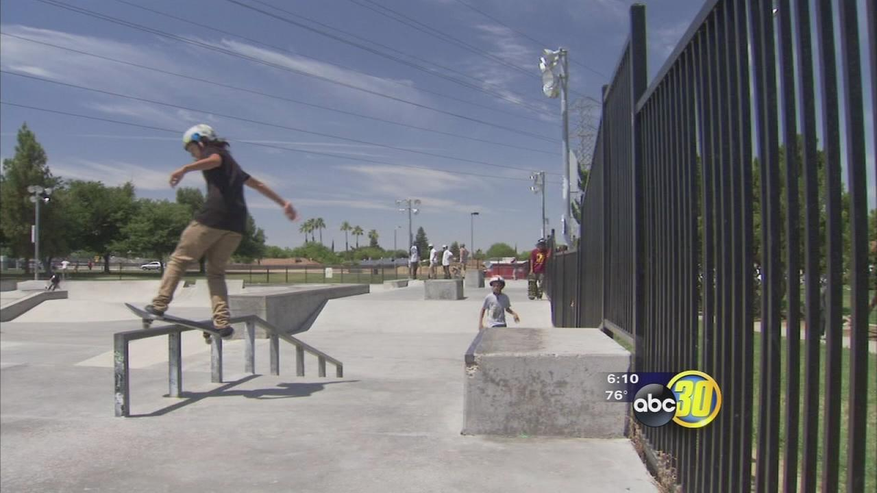 Fresno Unified holds first skateboarding competition in Northwest Fresno