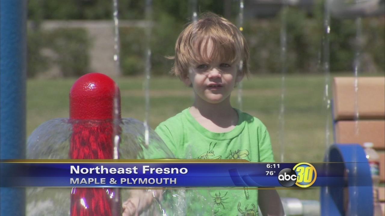 Fresno opens splash parks for the summer