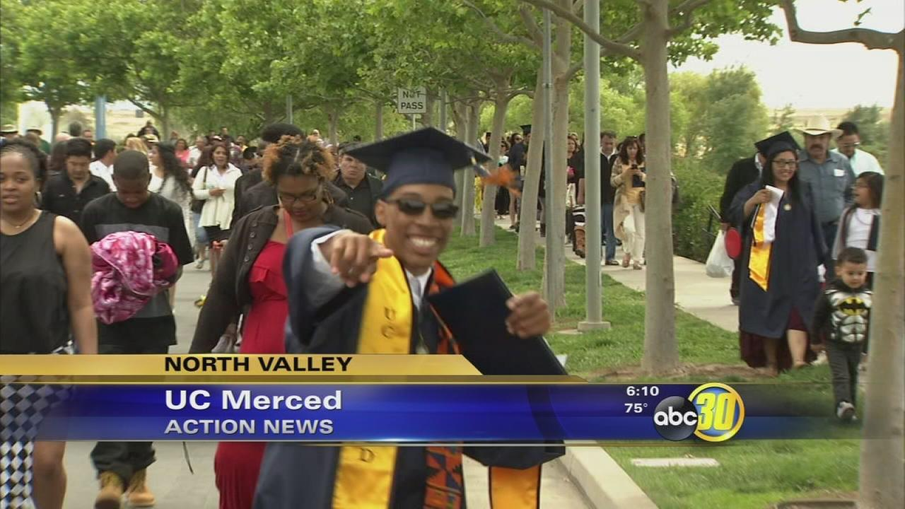 U.C. Merced honors thousands of new graduates