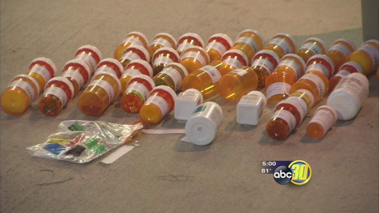 Burglars target 3 Fresno pharmacies