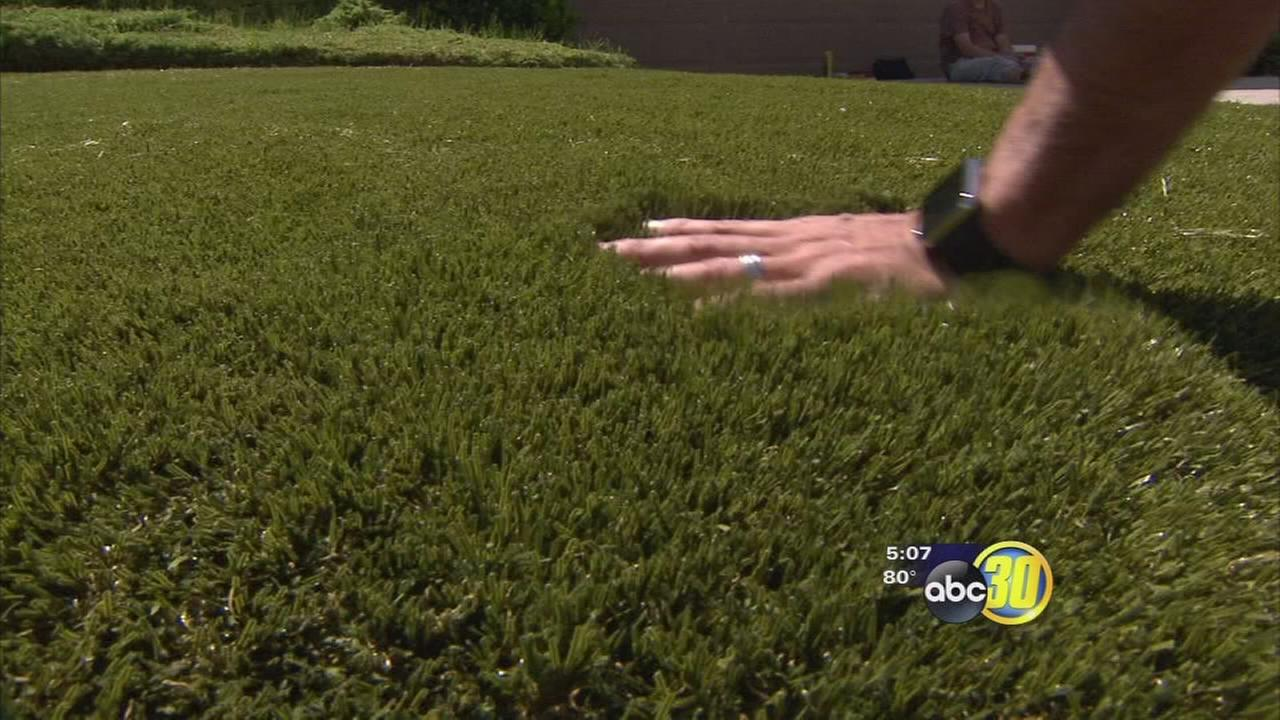 Drought gives synthetic lawn company a boost