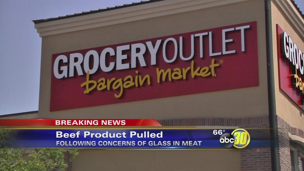 Grocery Outlet pulls Harris Ranch ground beef after customer reports finding glass shards inside