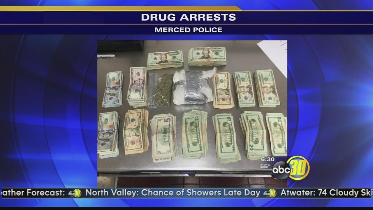 1 pound of cocaine, $17K found in car after Merced chase