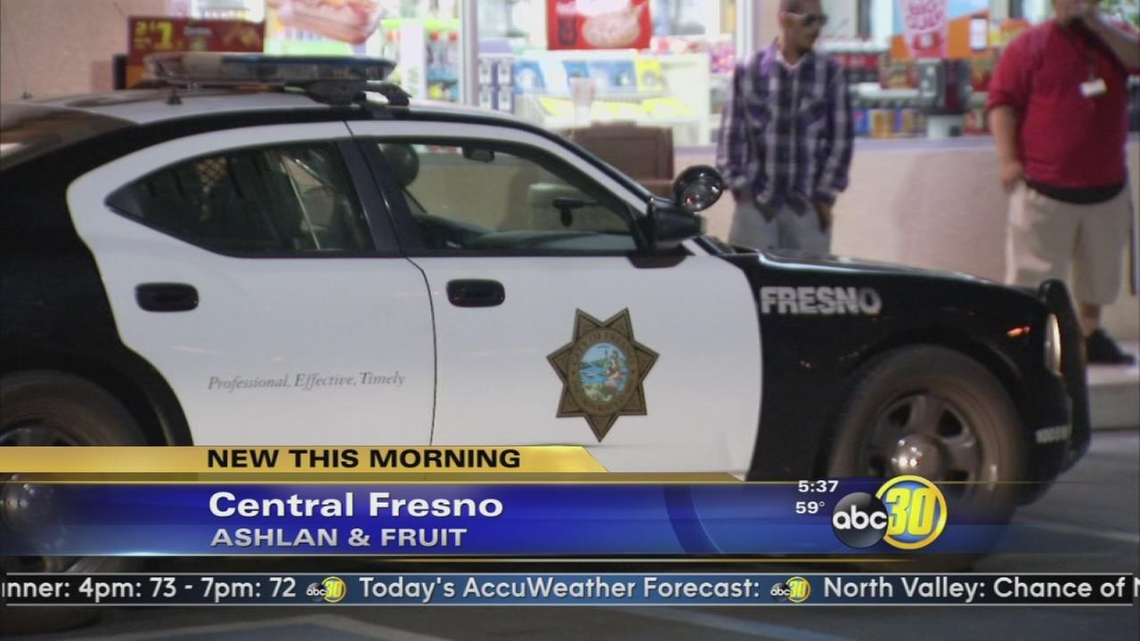 Two suspects rob store at gunpoint in Central Fresno